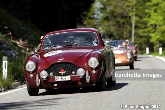 040 Aston Martin DB 2/4 MK III 1957 - Carlo Bianchi / Thomas... • 04 ...
