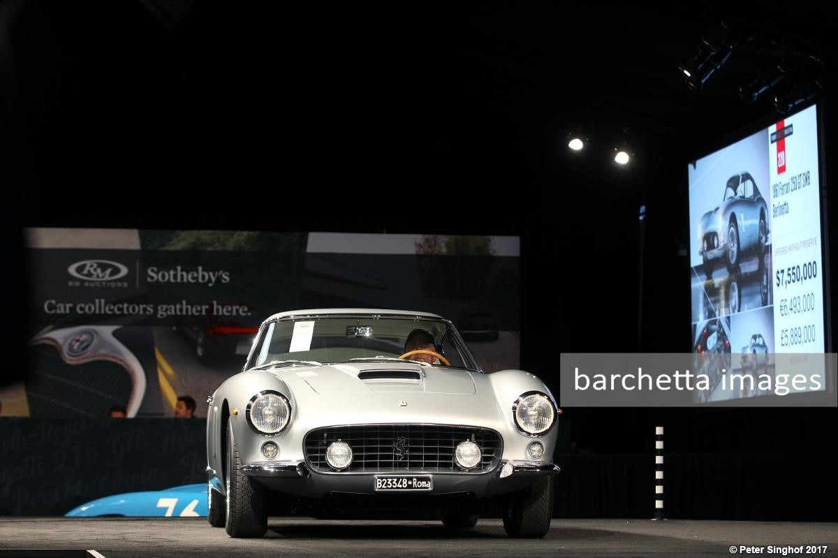 RM Sotheby´s Monterey 2017
