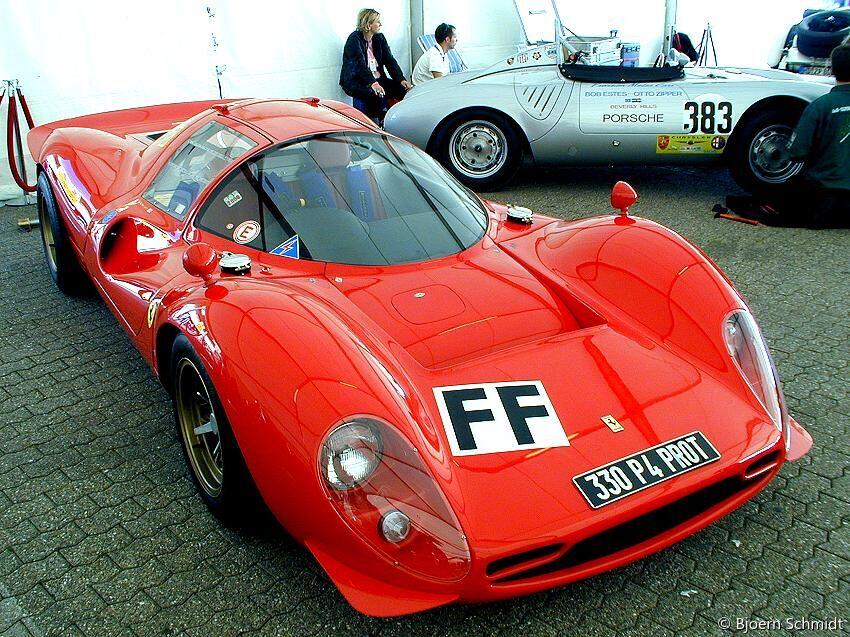 Ferrari 330 P4 Replica Max Theiler Ch Barchetta Mediacenter Plus