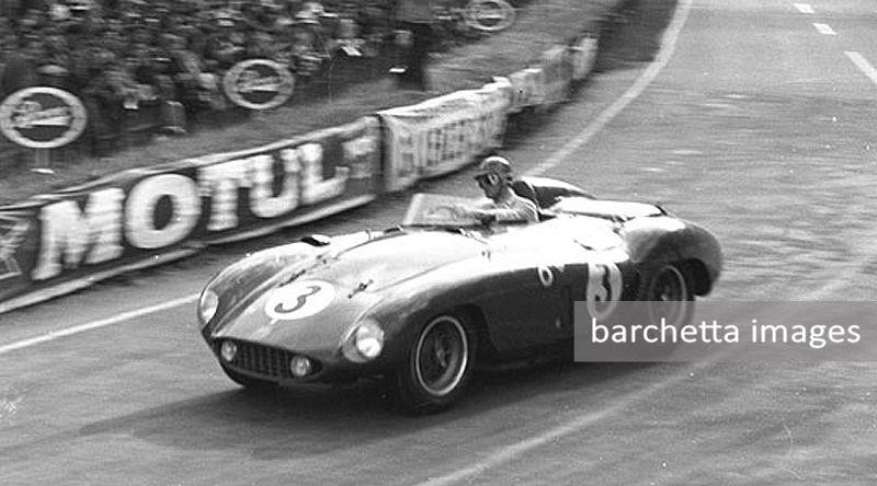 1955/Jun/11-12 - dnf engine, clutch lap 76 S5.0 - 24h Le Mans - Phil Hill / Umberto Maglioli - #3