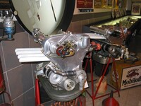 Stanguellini modified Fiat engine
