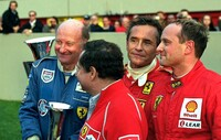 David Franklin, Jean Todt, Jacky Ickx and Patrick Stieger