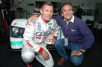 Tom Kristensen and Jacky Ickx