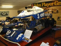 1977 Tyrrell P 34 six wheeler