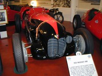 1935 Maserati V8R1, with 4 litre V8 engine