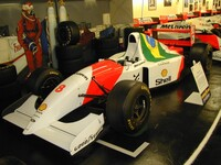 The 1993 Donington European G.P. winning McLaren MP4/8A of Ayrton Senna