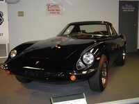 1966 Griffith coupe, a total of 512 of these steel bodied coupes were built to a design by Robert Cumberford for Jack Griffith