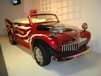 Barris Kustom cabrio Ford featured in the film Grease