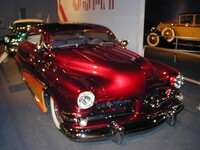 1950 Mercury custom car that featured on the 1997 poster for the Daytona Speedway Spectacular
