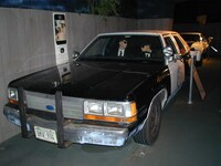 Blues Brothers 2000 film car, one of seven remaining out of 18 built for the film, 11 being destroyed during shooting