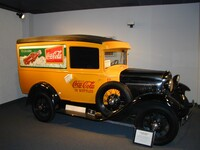 1930 Ford Model A panel van used by Coca Cola in Illinois until 1956