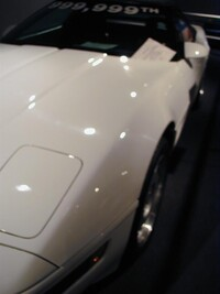 1992 Chevrolet Corvette - the 999,999th example built which raised $200,000 when it was raffled for charity