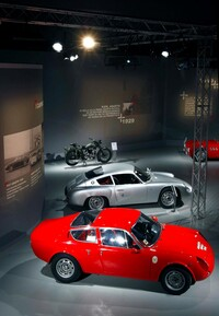 "The exhibition Abarth ""DA 0 A 100"""