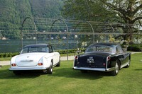 080 BMW 503 factory Coupe 1957;078 Facel Vega FV Limousine by Facel Metallon 1955