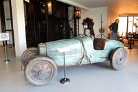Bugatti T35 Bronze Sculpture