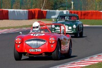 112 AUSTIN HEALEY 100/4 1954 - FLOOD Peter GB - FRANKEL Richard GB