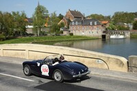 104 AUSTIN HEALEY 100 M 1956 BEAUMARTIN/AUDIBERT