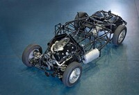 Mercedes-Benz 300 SL (model series W 194) 1952 s/n 194.010.00002 ... Chassis with all components before the body was mounted