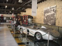Mille Miglia Museum, Brescia/Italy. Permanent exhibition, in the foreground a Mercedes-Benz 300 SLR (W 196 S) of 1955