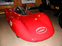 Stanguellini Colibri speed record car