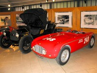 Stanguellini 1100 Sport and Fiat, first car registered in Modena MO 1