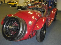 1933 Alfa Romeo 6C-1750 Gran Sport Spider with Touring coachwork, on s/n 121215050