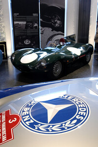 Mercedes-Benz 300 SL;Jaguar D-Type