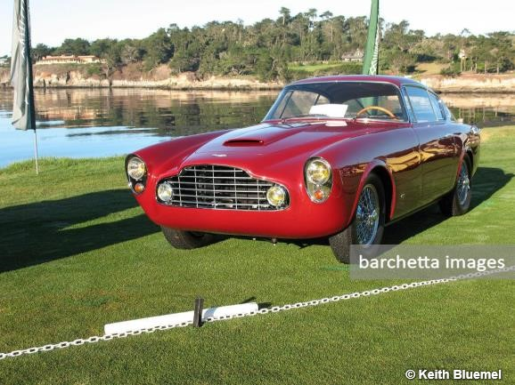 1954 Aston Martin DB/4 Allemano Coupe s/n LM/761