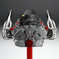 Ferrari V8 Engine