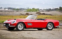 Lot 046 - 1959 Ferrari 250 GT LWB California Spider s/n 1425GT Est. $8,000,000 - 10,000,000