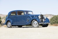 Lot 016 - 1938 Rolls-Royce Wraith Sports Saloon s/n WRB57 Est. $150,000 - 180,000 €140,000 - 170,000