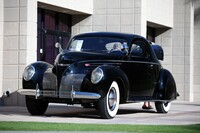 Lot 142 1939 Lincoln-Zephyr  Three-Window Coupe  s/n H 71701