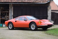 "Lot 086 - 1974 Dino 246 GT ""Tipo E"" s/n 06416 Est. €200,000 - 250,000 - Sold €269,392"