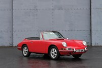 Lot 159 - 1964 Porsche 901 Cabriolet Prototype s/n 13360 Est. €850,000 - €1,000,000 - Not Sold High Bid €560,000 Post Sale €649.600