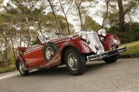 Lot 132 - 1938 Horch 853 A cabriolet s/n 854192A Est. €500,000 - 700,000 - Sold €596,000