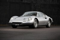 Lot 166 - 1968 Ferrari Dino 206 GT s/n 00238 Est. €475,000 - €575,000 - Sold €526.400